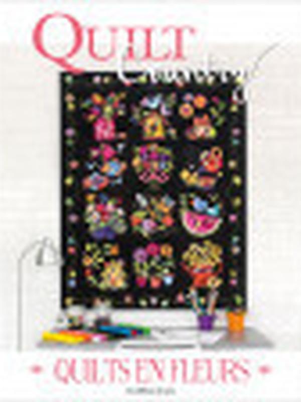 QUILT COUNTRY N°65 - Quilts en fleurs