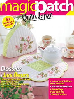 QUILTS JAPAN n°17 - LES FLEURS