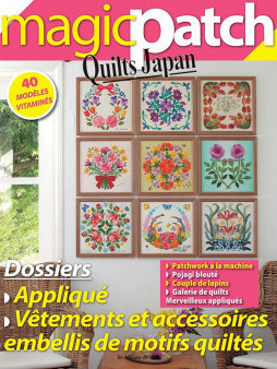 QUILTS JAPAN n°23 -APPLIQUé