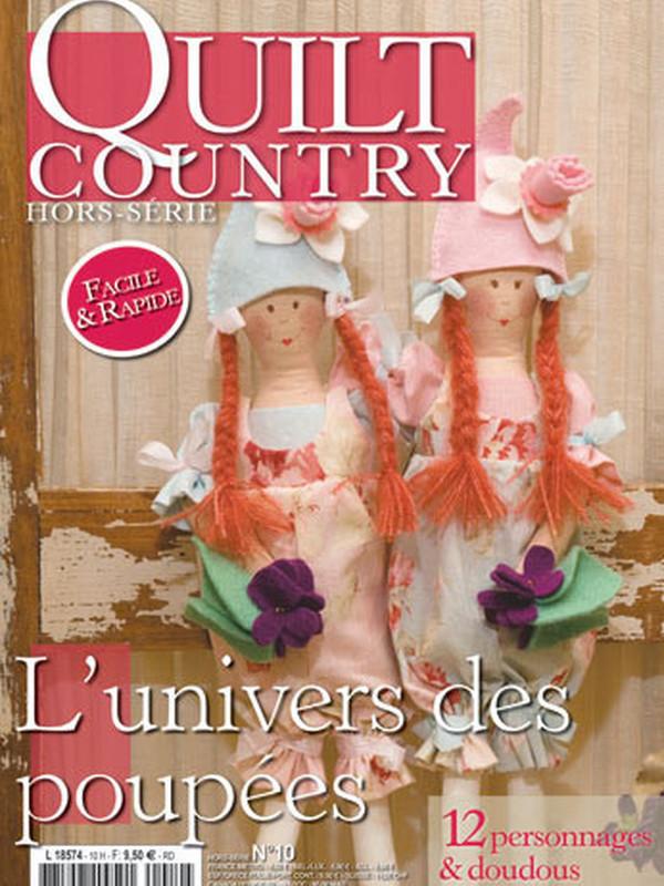 QUILT COUNTRY HS N°10 - UNIVERS DES POUPEES
