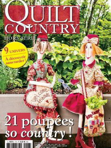 QUILT COUNTRY HS N°17 - POUPEES SO COUNTRY