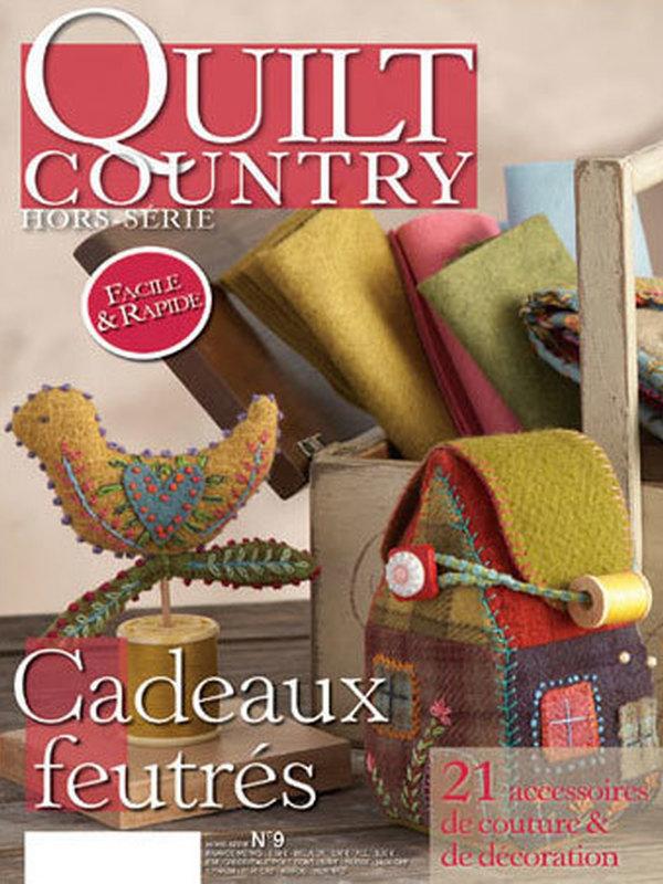 QUILT COUNTRY HS N°9 - CADEAUX FEUTRES