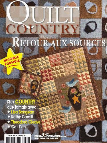 QUILT COUNTRY N° 42 - RETOUR AUX SOURCES