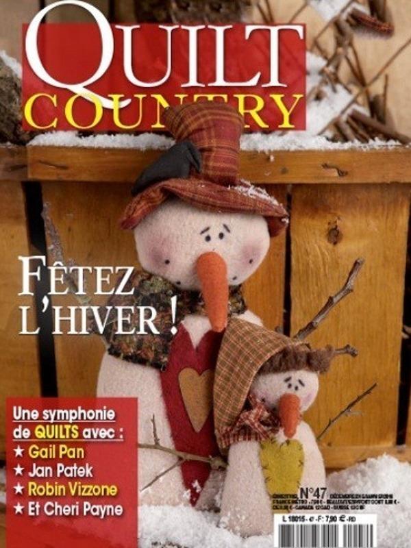 QUILT COUNTRY N° 47 - FETEZ L'HIVER !