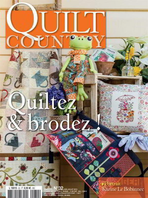 QUILT COUNTRY N° 32 - QUILTEZ ET BRODEZ