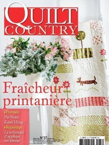 QUILT COUNTRY N° 37 - FRAICHEUR PRINTANNIERE