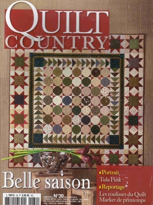 QUILT COUNTRY N° 39 - BELLE SAISON