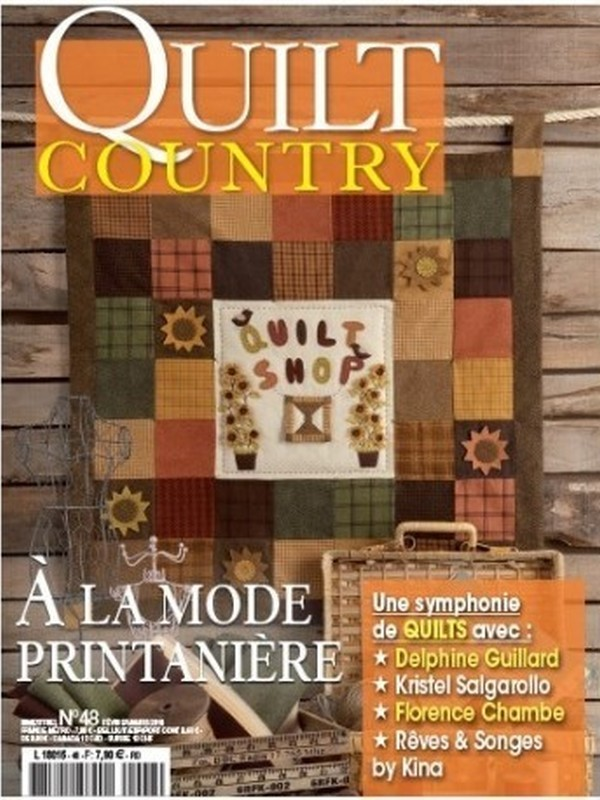 QUILT COUNTRY N° 48 - A LA MODE PRINTANNIERE