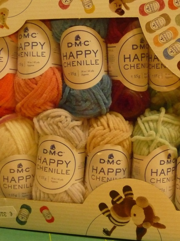 HAPPY CHENILLE ASSORTIMENT 25 BOULES